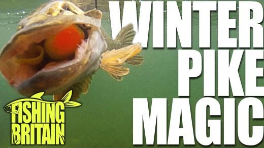 Winter Pike Methods – Fishing Britain episode 5