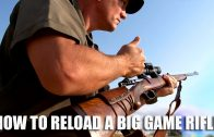 How to reload a big game hunting rifle
