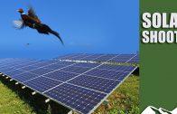 Shooting over solar farms