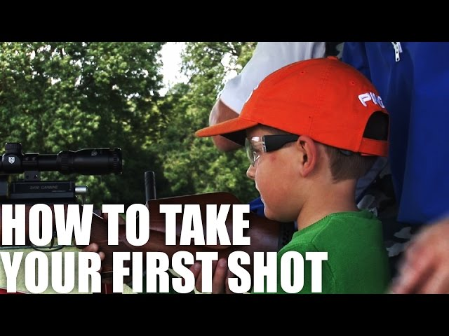 how to take your first shot with abbey burton fieldsports channel