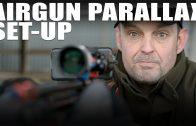 Airgun parallax set-up