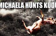 Michaela Hunts Kudu