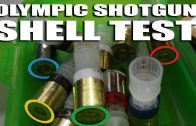 Olympic shotgun shell test