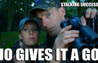 Stalking Success – Jo gives it a go