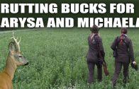 Rutting Bucks for Larysa and Michaela