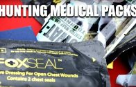 Medical packs for hunters