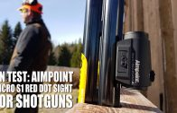 On Test: Aimpoint Micro S1 sight for shotguns