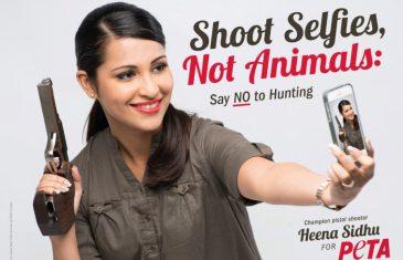 Shoot selfies