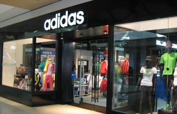 Adidas storefront