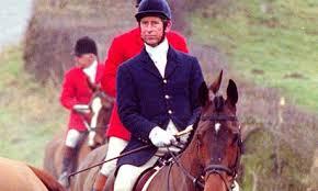 Prince Charles hunting