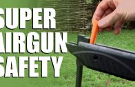Spring powered air rifle safety – Watch those fingers!