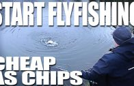 Start fly fishing on a budget