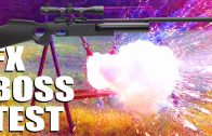FX BOSS – 100-yard target test