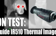 Guide IR510 thermal imager on test