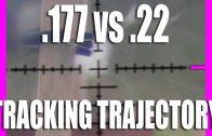 Tracking Trajectory – .22 vs .177 airgun pellets