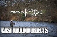 Fly casting around objects – Casting Clinic