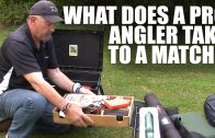 What does a Pro Angler take to a match? – Gear Guide